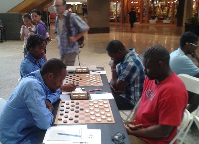Ronde finale: Ricardo vs Souleymane; Shang Wong vs Junior
