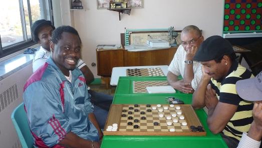 Souleymane Keita et Shang Wong Louiceus au club de Montréal en 2011.