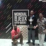 Podium: Souleymane Keita, Ricardo Pierre et Lafontant Cherenfant.